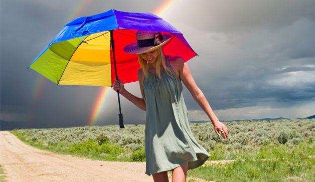 Deštník online