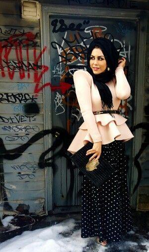 Street style muslimka