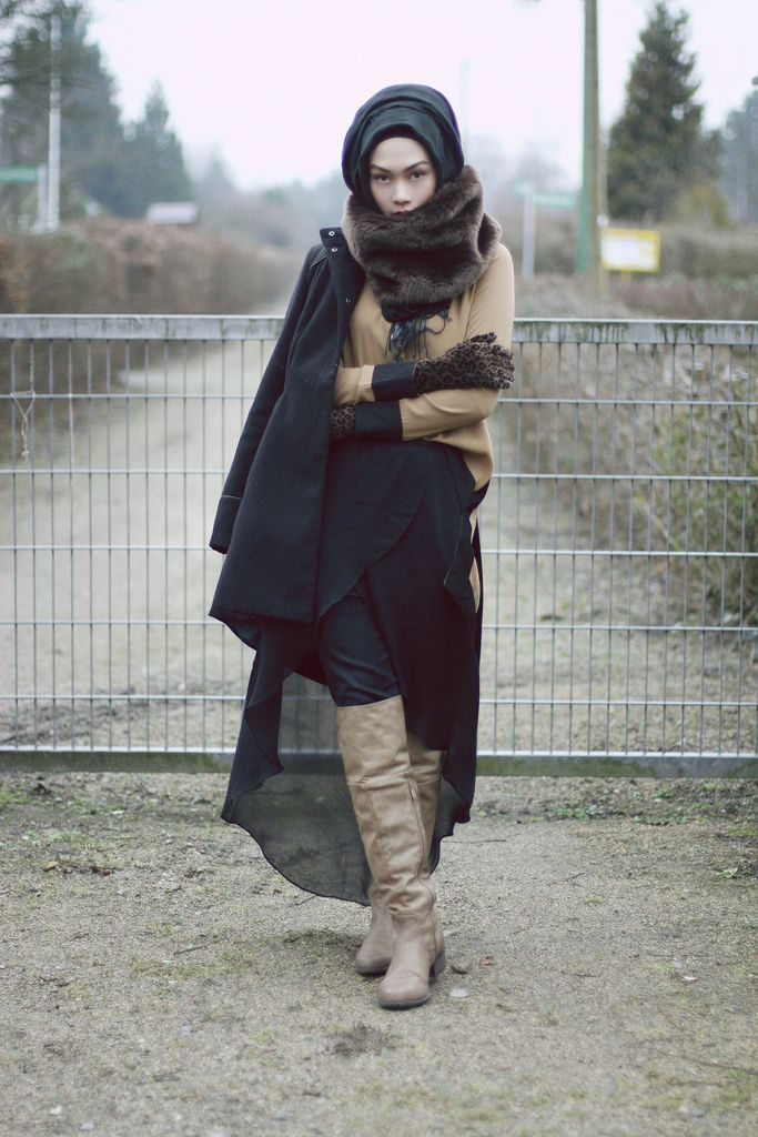 arabská móda podzim