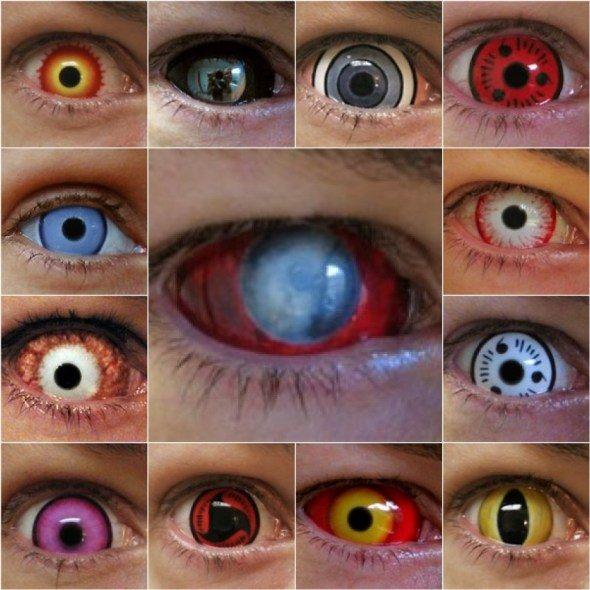crazy kontaktní čočky různé
