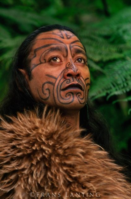 Moko tetování maorské