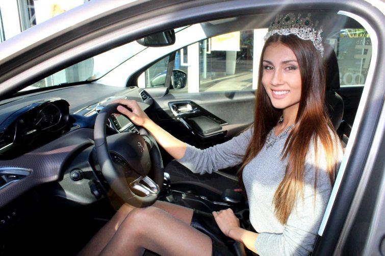 Miss Face Peugeot Natálie Myslíková