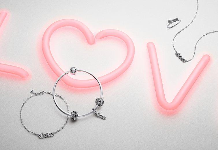 Valentýnská kolekce Pandora 2015