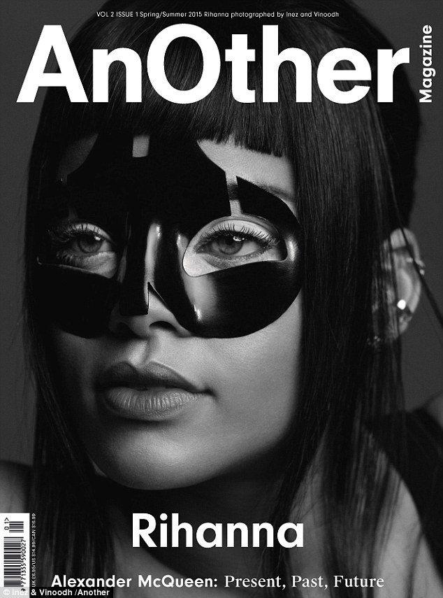 Titulní strana AnOther Rihanna