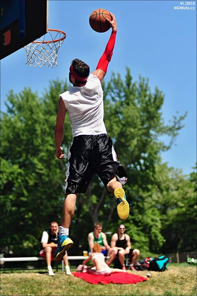Honza Vurm basketbal