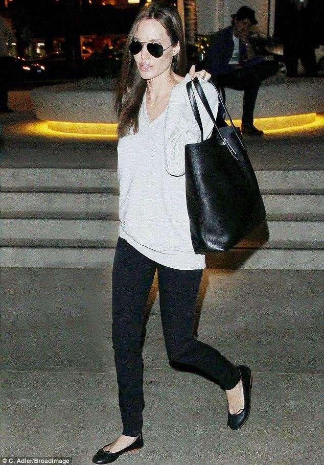 angelina jolie shopping bag