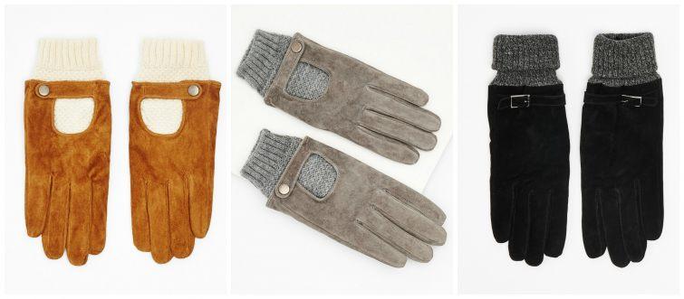 Kombinované rukavice Reserved