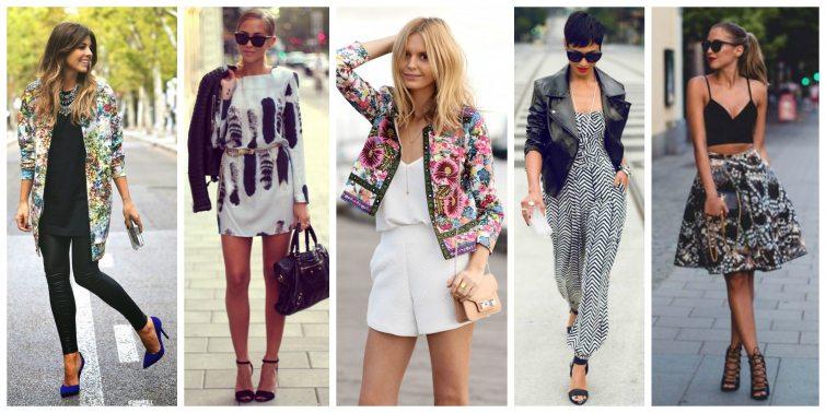 Vzorované oblečení inspirace