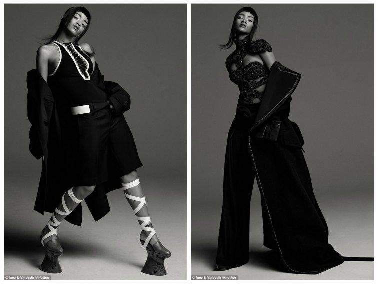 Rihanna Alexander McQueen AnOther