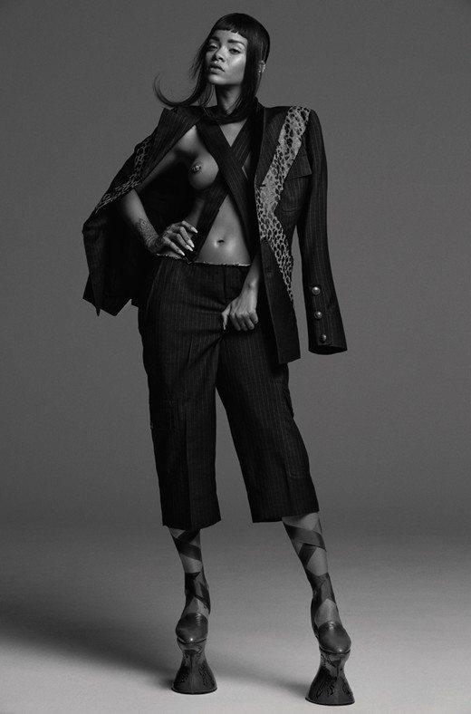 Rihanna AnOther Alexander McQueen
