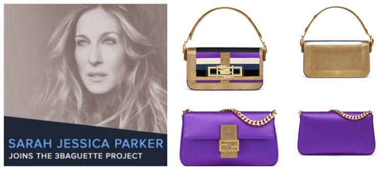 Sarah Jessica Parker 3Baguette Fendi