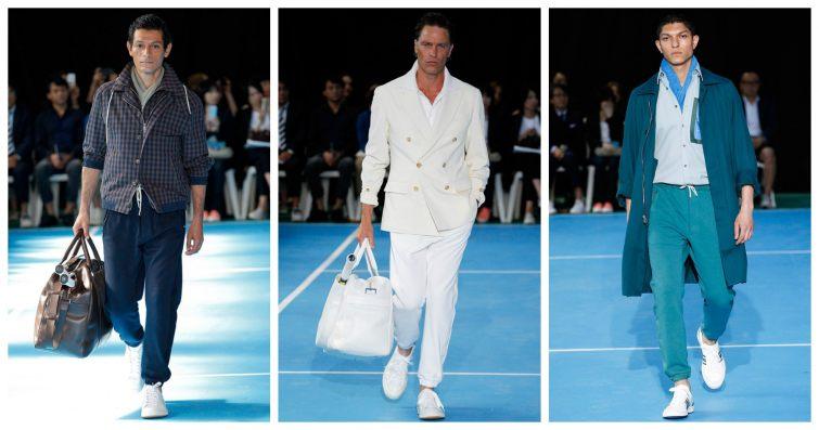 Umit Benan tepláky z kolekce Spring/Summer 2015 Paris Fashion Week