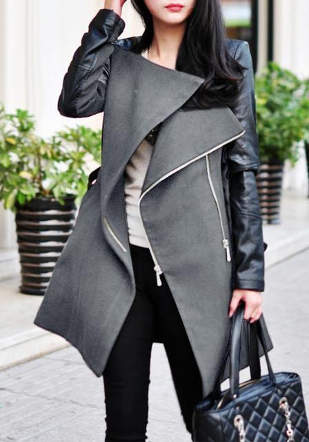 podzimní kabátek