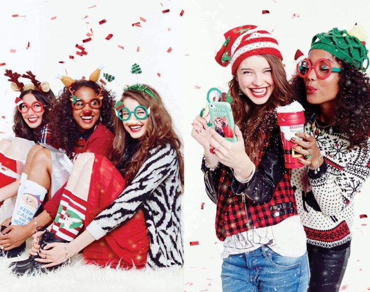 vánoční dárky oblečení pro ženy
