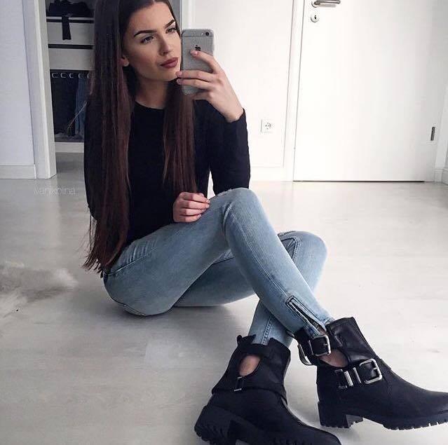 boty s průřezy na jaro