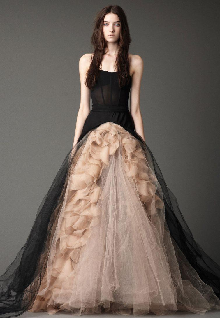 svatební šaty vera wang