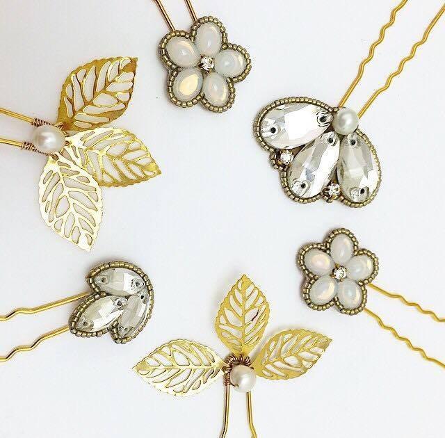 šperky do vlasů zdobené sponky