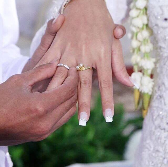 nehty na svatbu