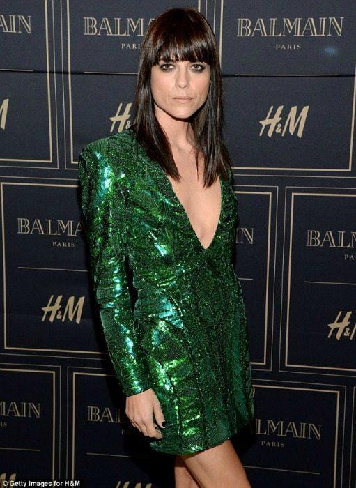 balmain pro H&M go green