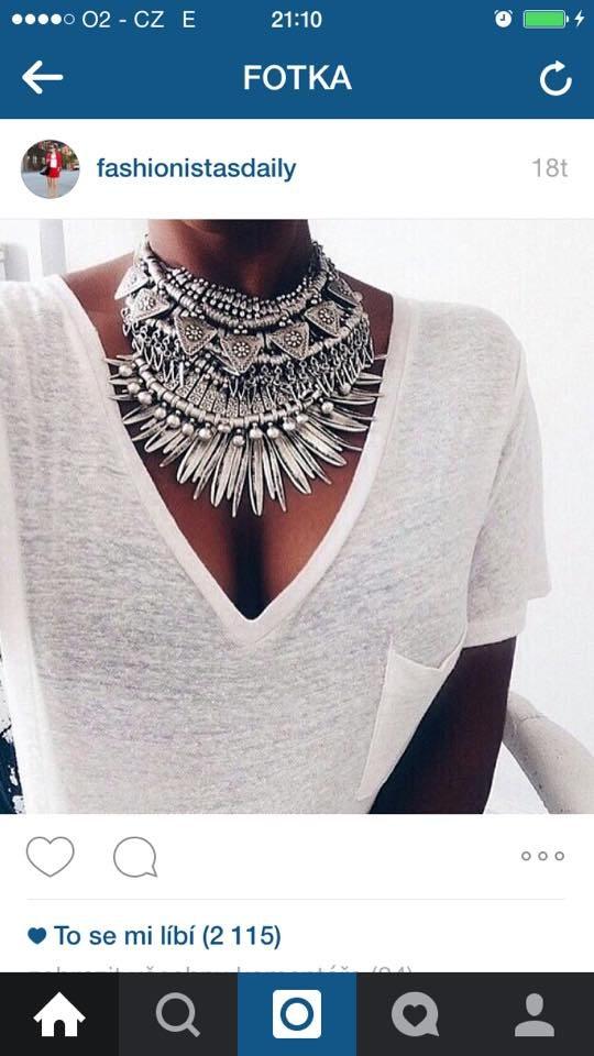 maxi náhrdelníky