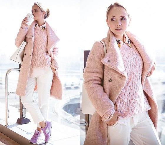 pastelové kabáty jaro