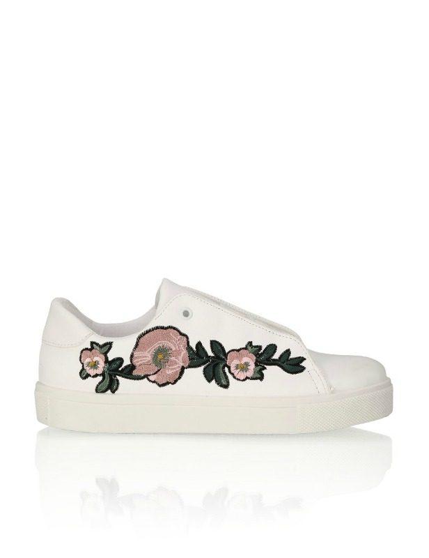 Boty s květinami