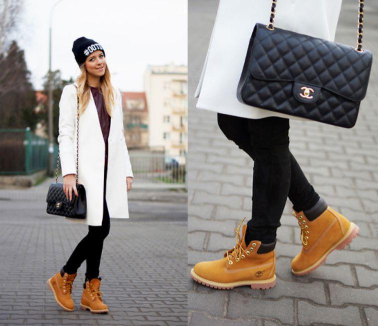 Timberland boty na zimu