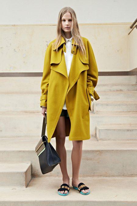 pastelový kabát jaro