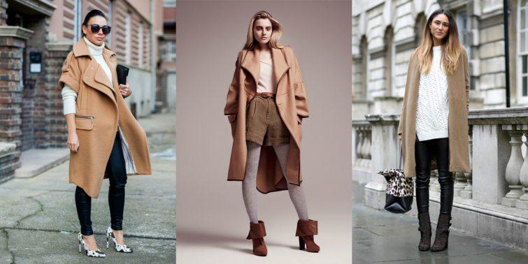 kabáty v přírodních odstínech