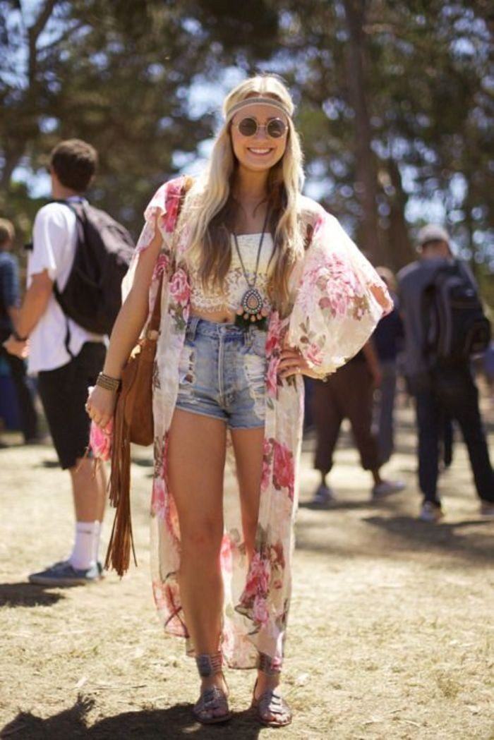 hippie styl čelenka