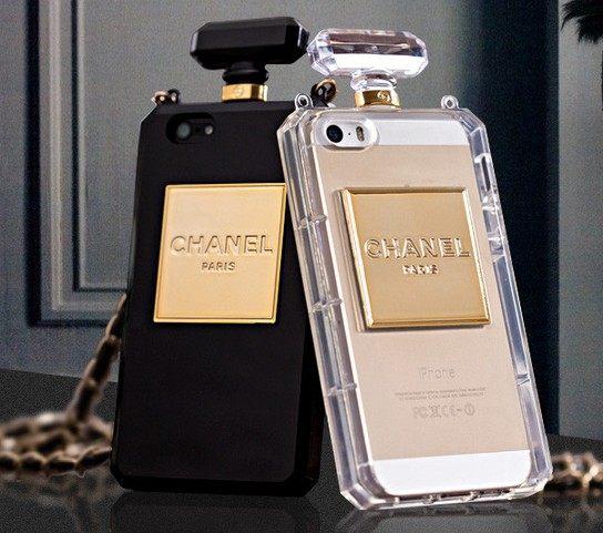 Chanel parfémový kryt na Iphone