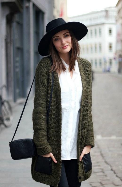 dámský svetr bez zapínání