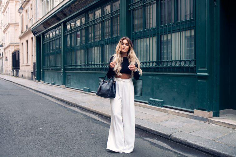 Fanny Lyckman široké kalhoty