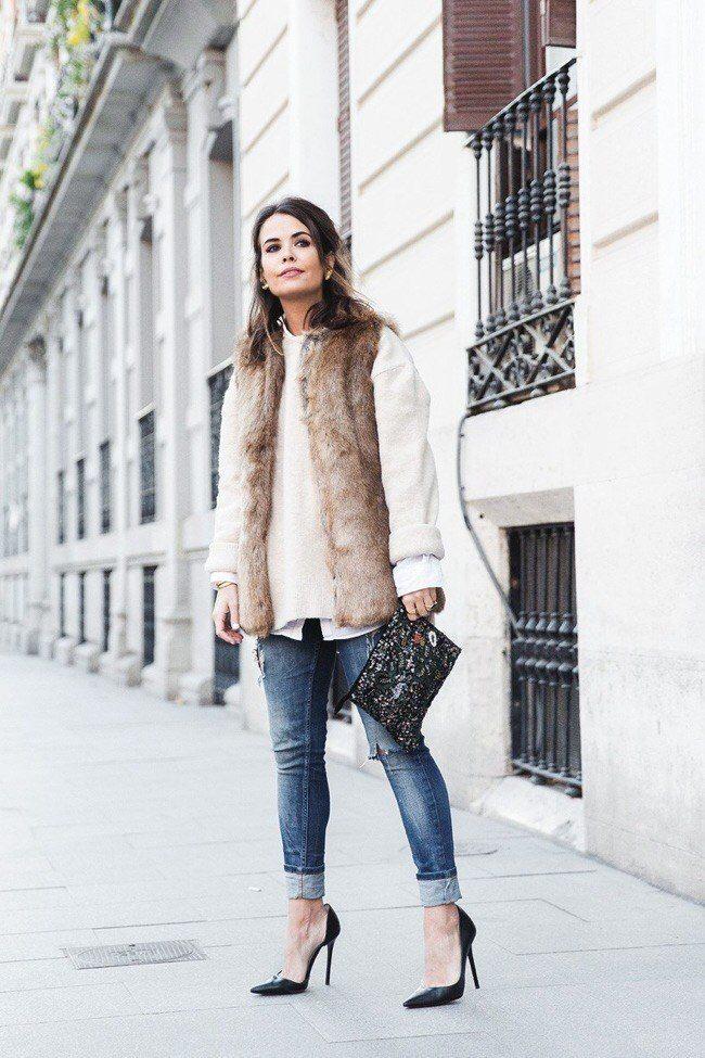 vrstvení oblečení v zimě