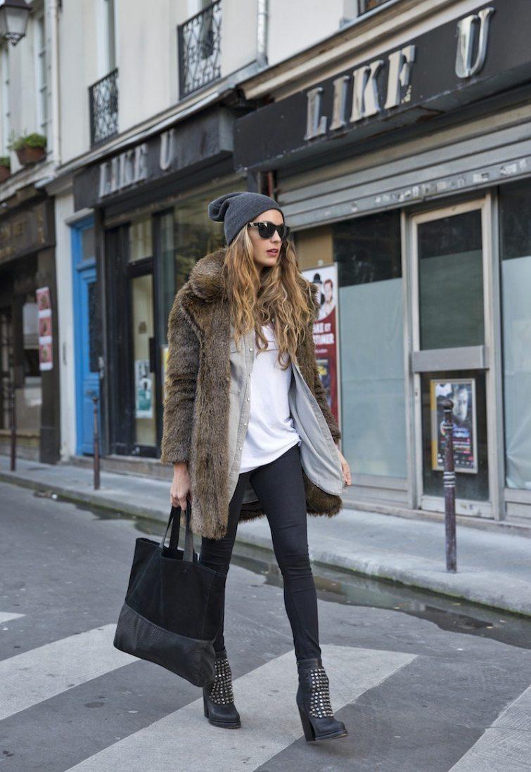 dámské oblečení vrstvení zima