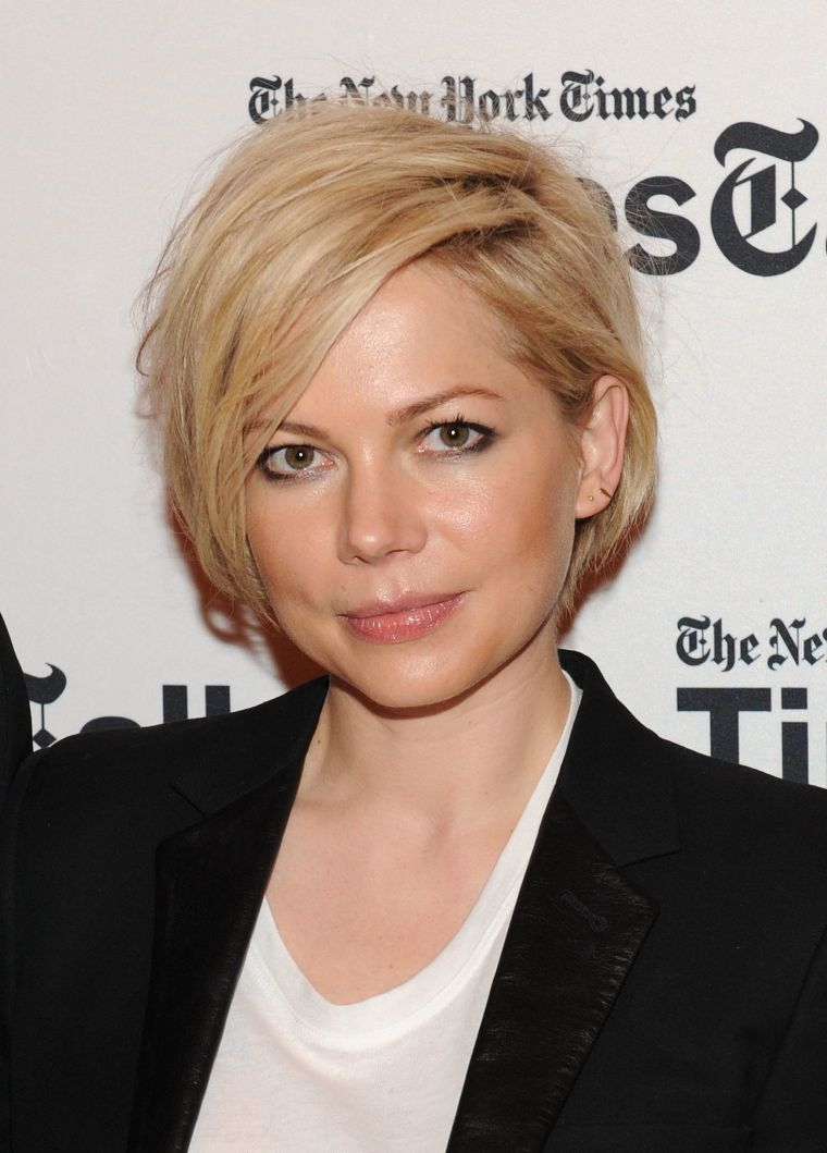 Michelle Williams krátké mikádo 2014