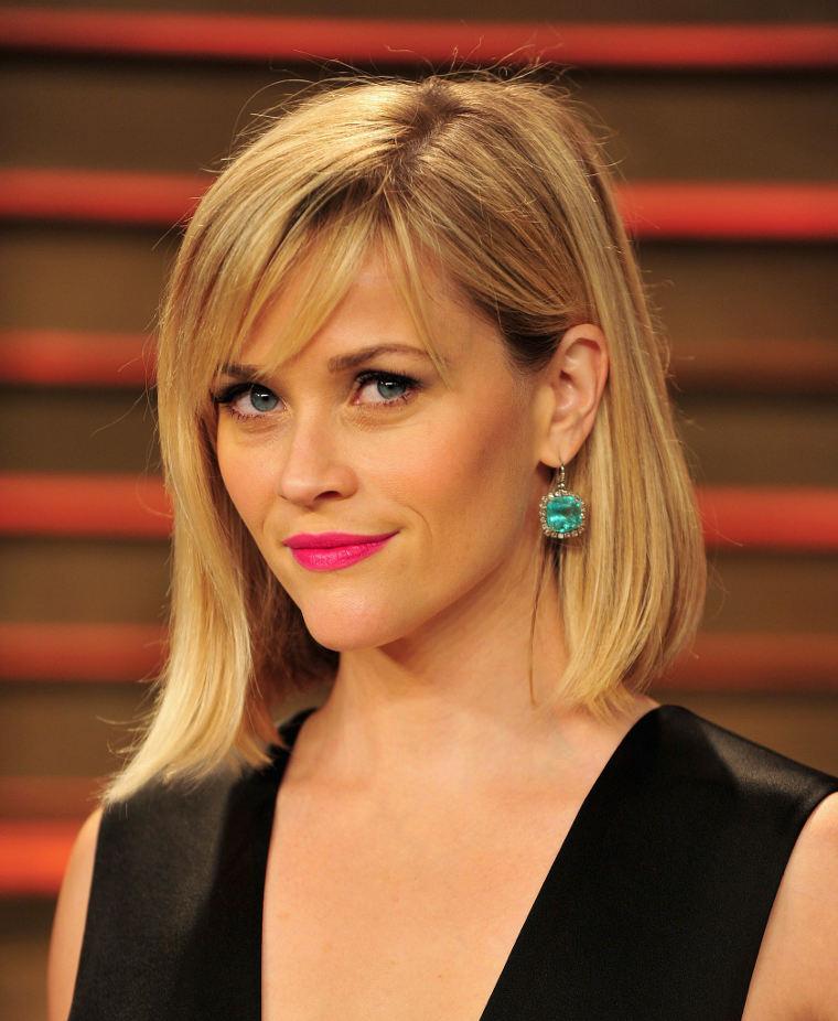 Dámské účesy 2014 Reese Witherspoon