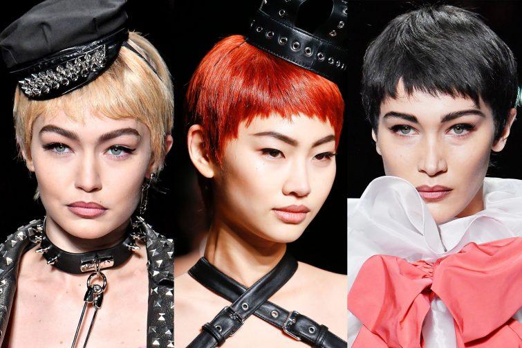 pixie účesy ženy trend