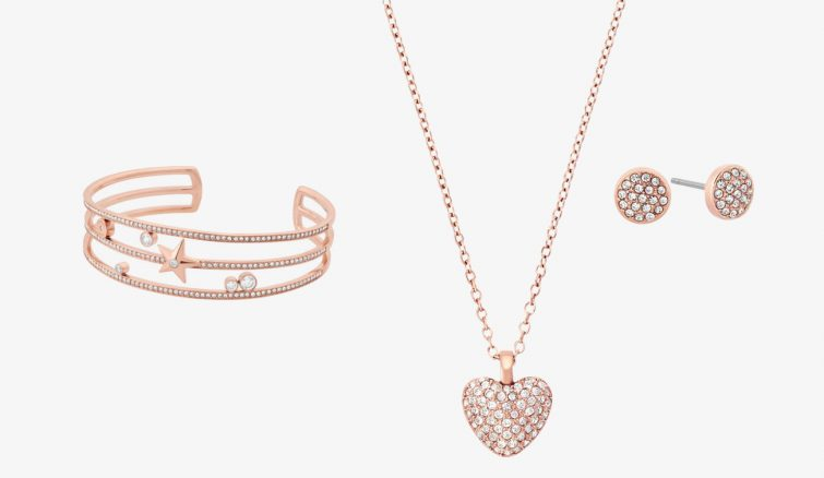 šperky růžové zlato michael kors