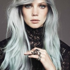 Grey silver Hairstyles