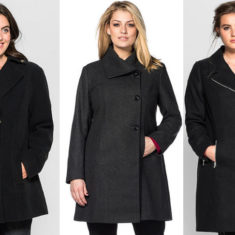 zeštíhlující kabáty