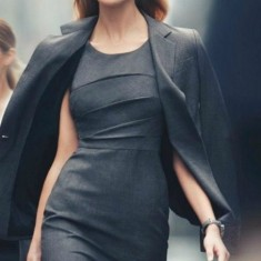 business-look-women-grey-business-fashion-dresses