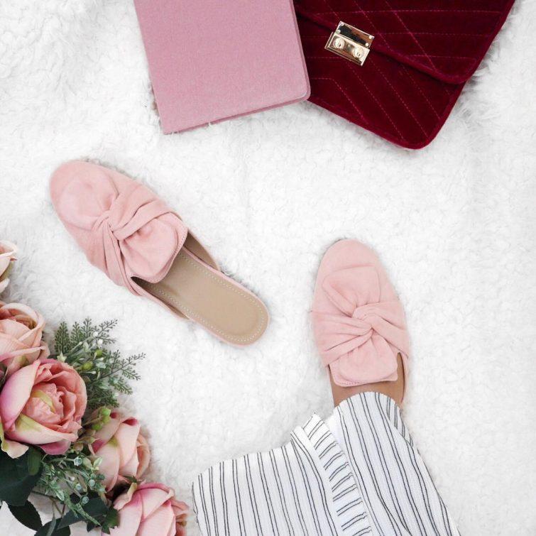 pantofle ruzove