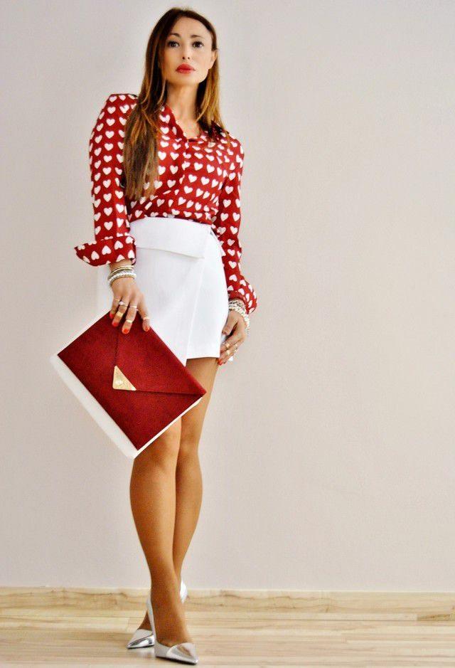 outfit kabelka zara červená