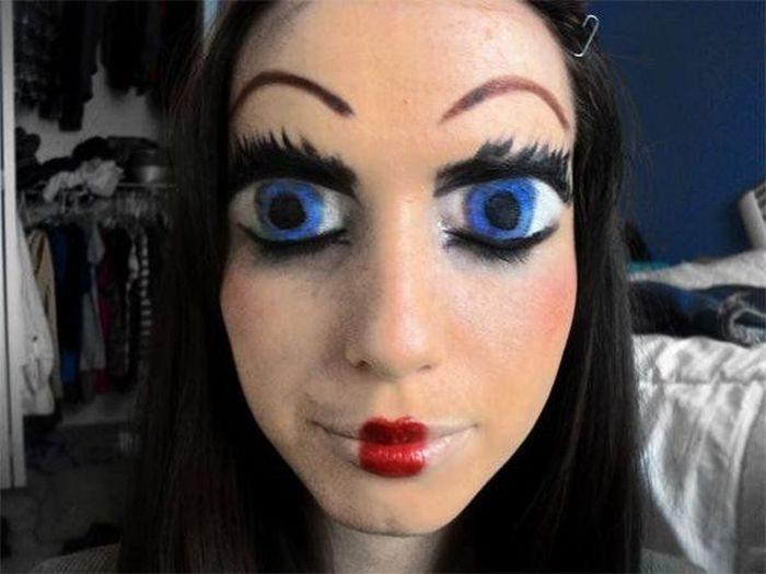 makeup na pracovní pohovor