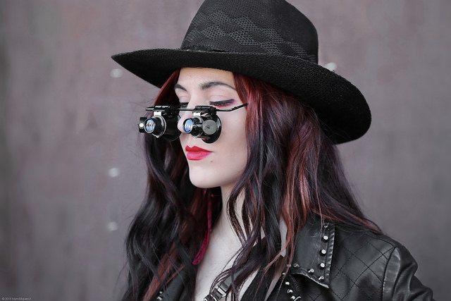 Steampunkový klobouk