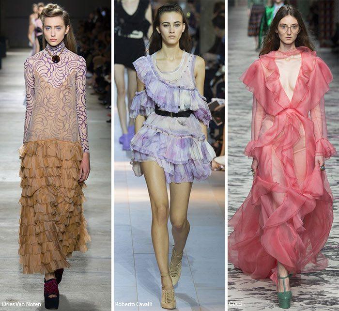 dámské šaty jaro léto 2016