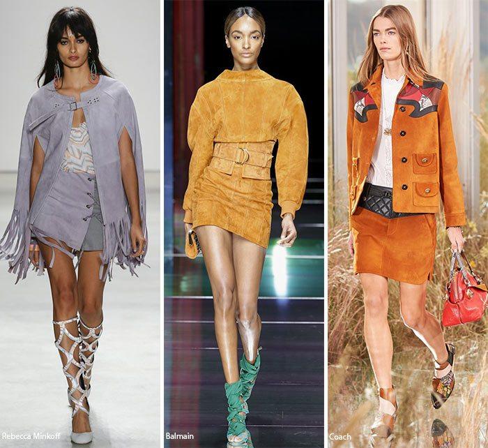 móda materiály 2016 trendy