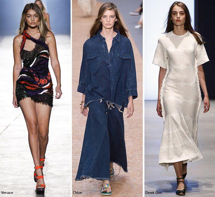 jarní letní módní trendy 2016