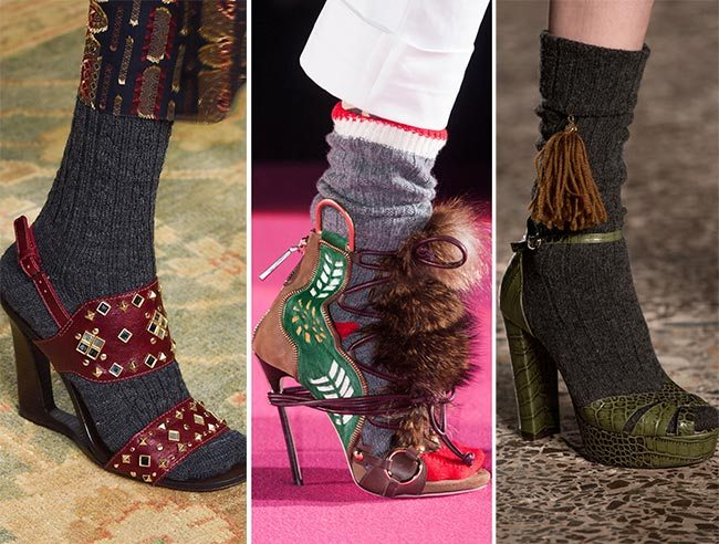 Podzimní sandály 2015